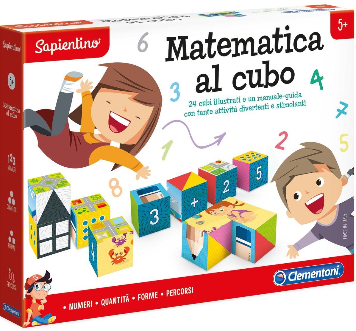 Gioco Matematica al Cubo Clementoni