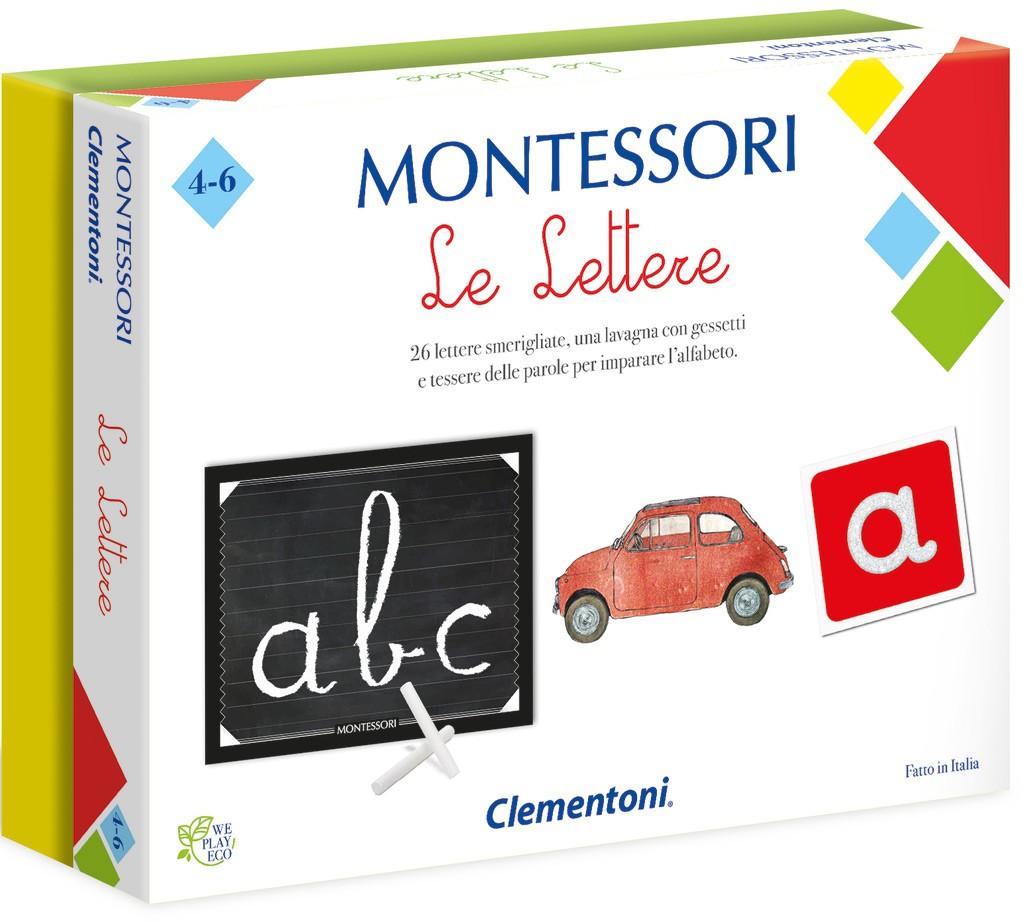 Le Lettere - Gioco Montessori