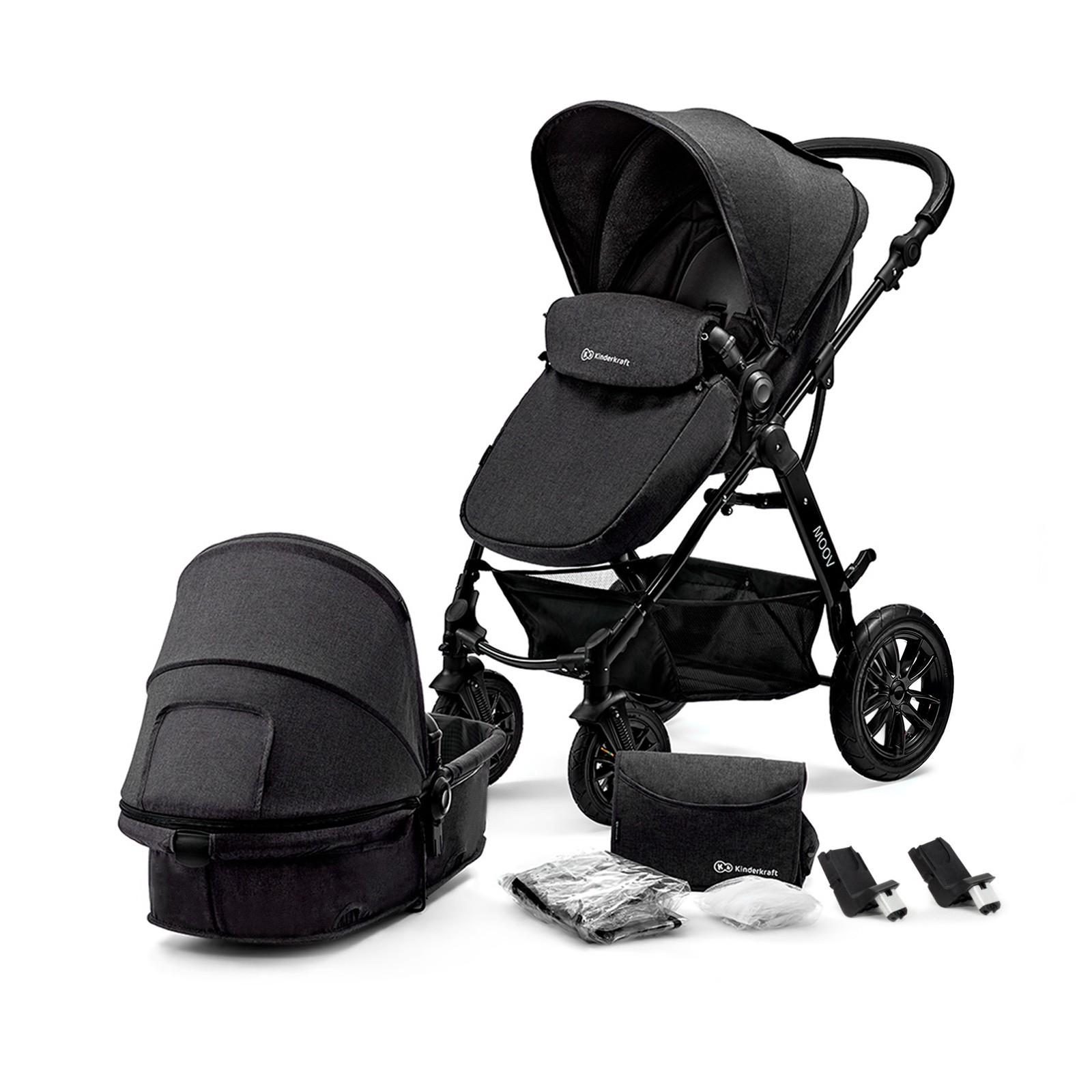 Kinderkraft Kinderwagen Moov 2 in 1 Black