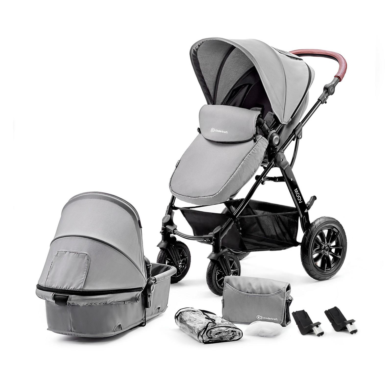 Kinderkraft Kinderwagen Moov 2 in 1 Grey