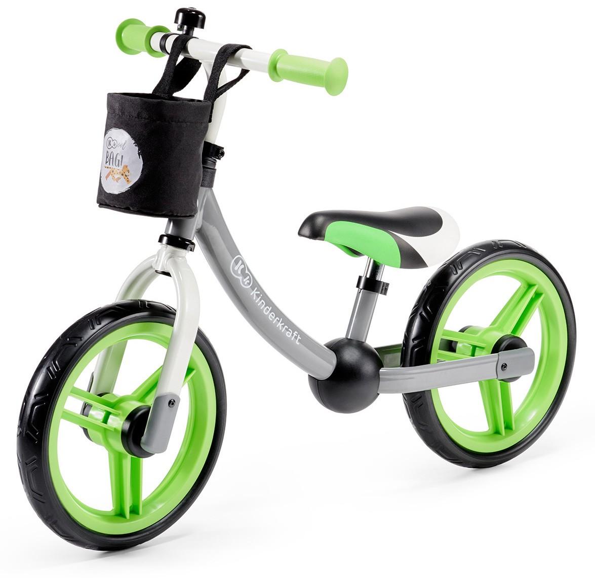 Bici 2Way Next Kinderkraft Gray/Green