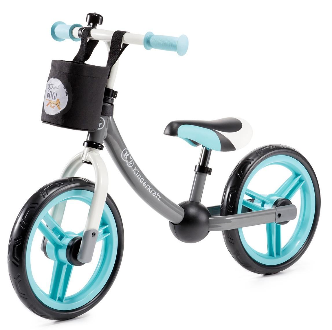 Bici 2Way Next Kinderkraft Gray/Turquoise