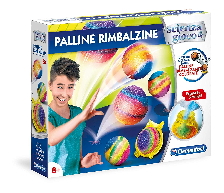 Clementoni Scienza e Gioco-Palline Rimbalzine