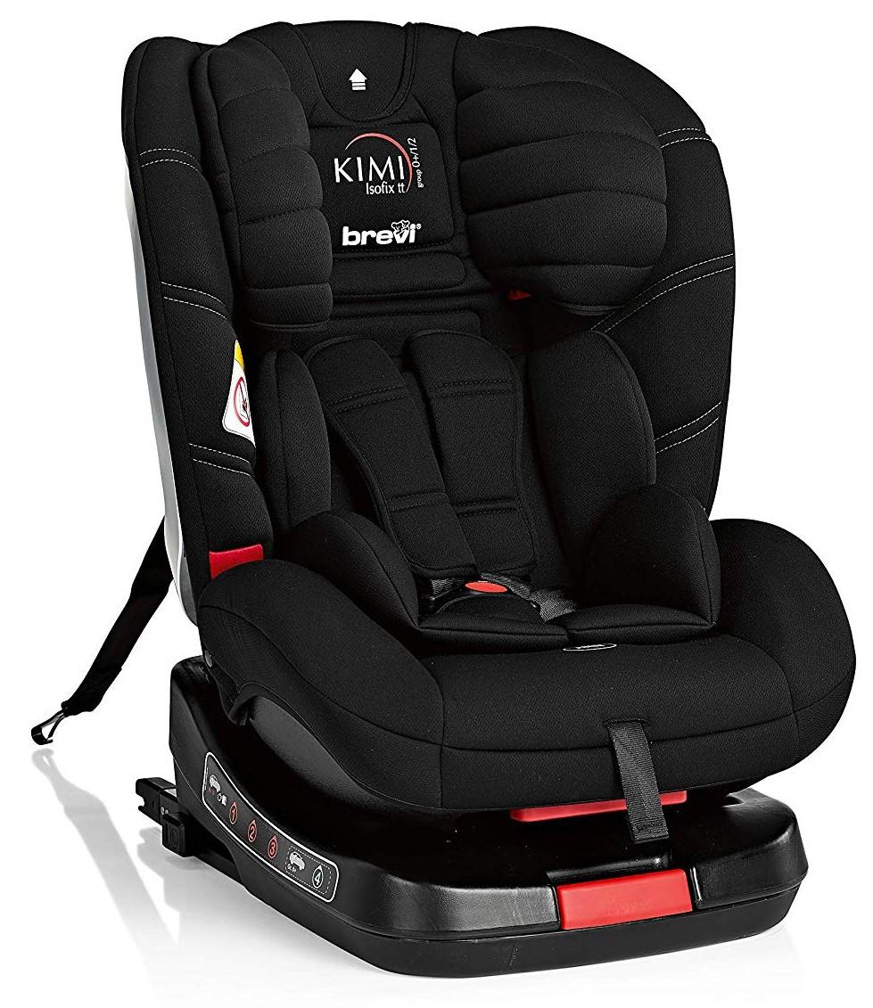 Brevi Kindersitz Kimi Isofix Black