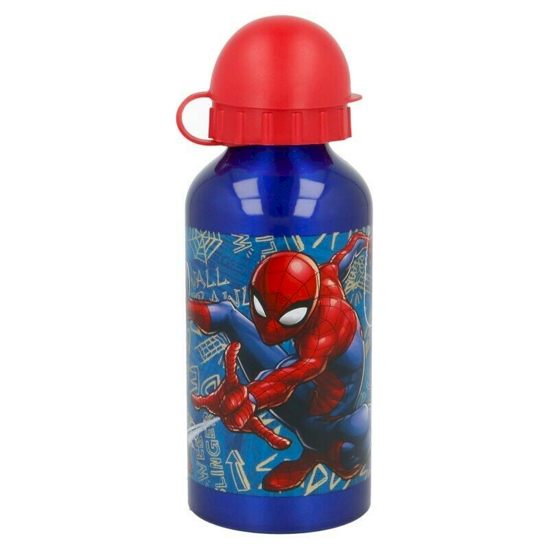 Alufeldflasche Disney - Spiderman