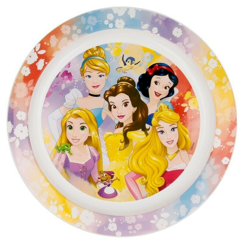 Piatto Piano Principesse Disney