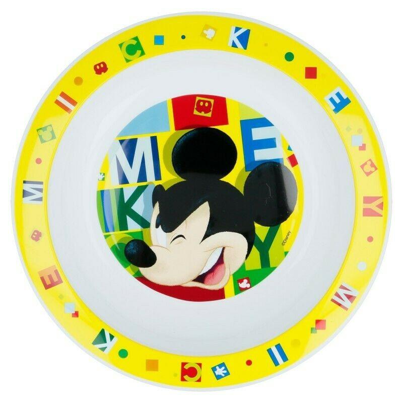 Plato Hondo Mickey Mouse