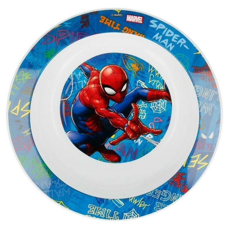 Piatto Fondo Spiderman