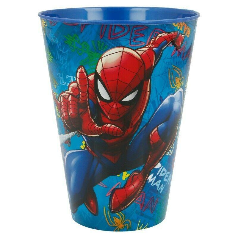 Vasos para Niños Spider-Man