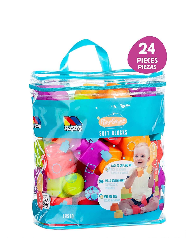 Bolso con Cubos Soft 24 Piezas