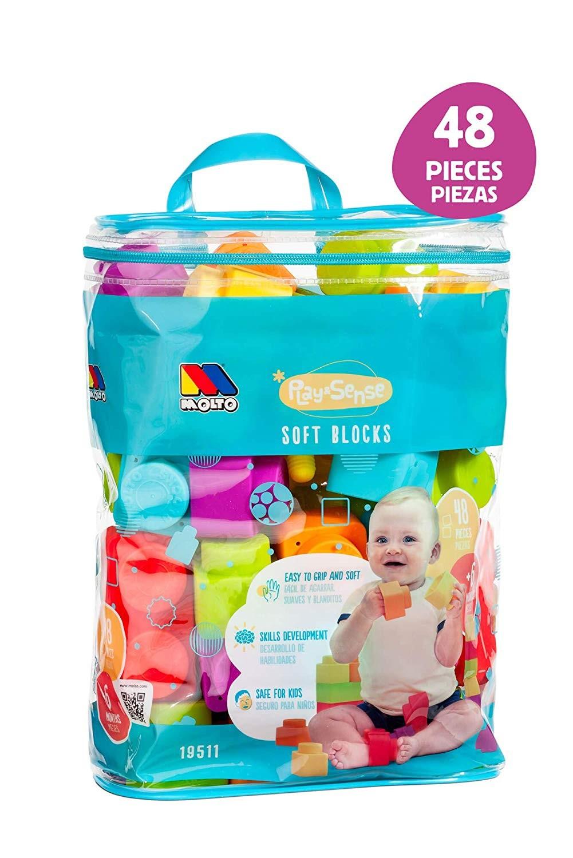 Bolso con Cubos Soft 48 Piezas