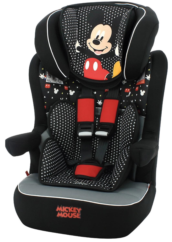Silla de Auto I-Max Mickey Mouse Negro/Rojo