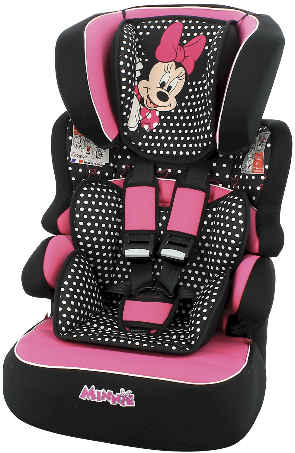 Silla de Auto Disney Minnie con Reductor