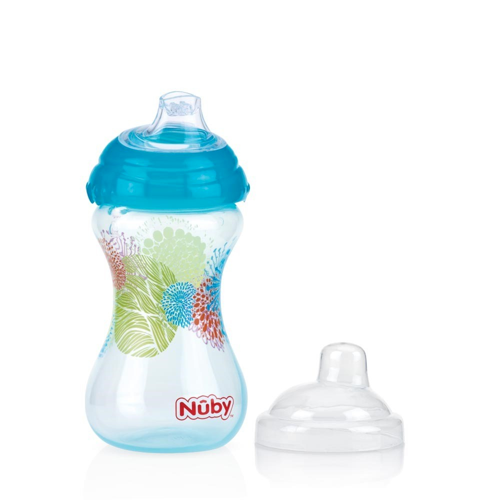 Bicchiere Nuby Pin Point Turchese