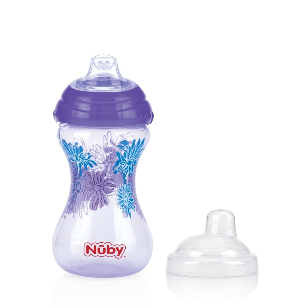 Bicchiere Nuby Pin Point Lilla