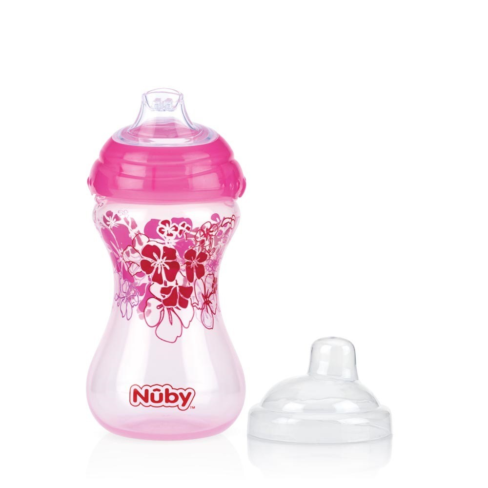 Bicchiere Nuby Pin Point Rosa