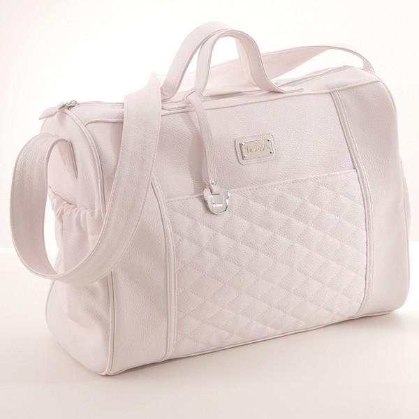 Nanan bestickt Tasche für Spaziergang Rosa