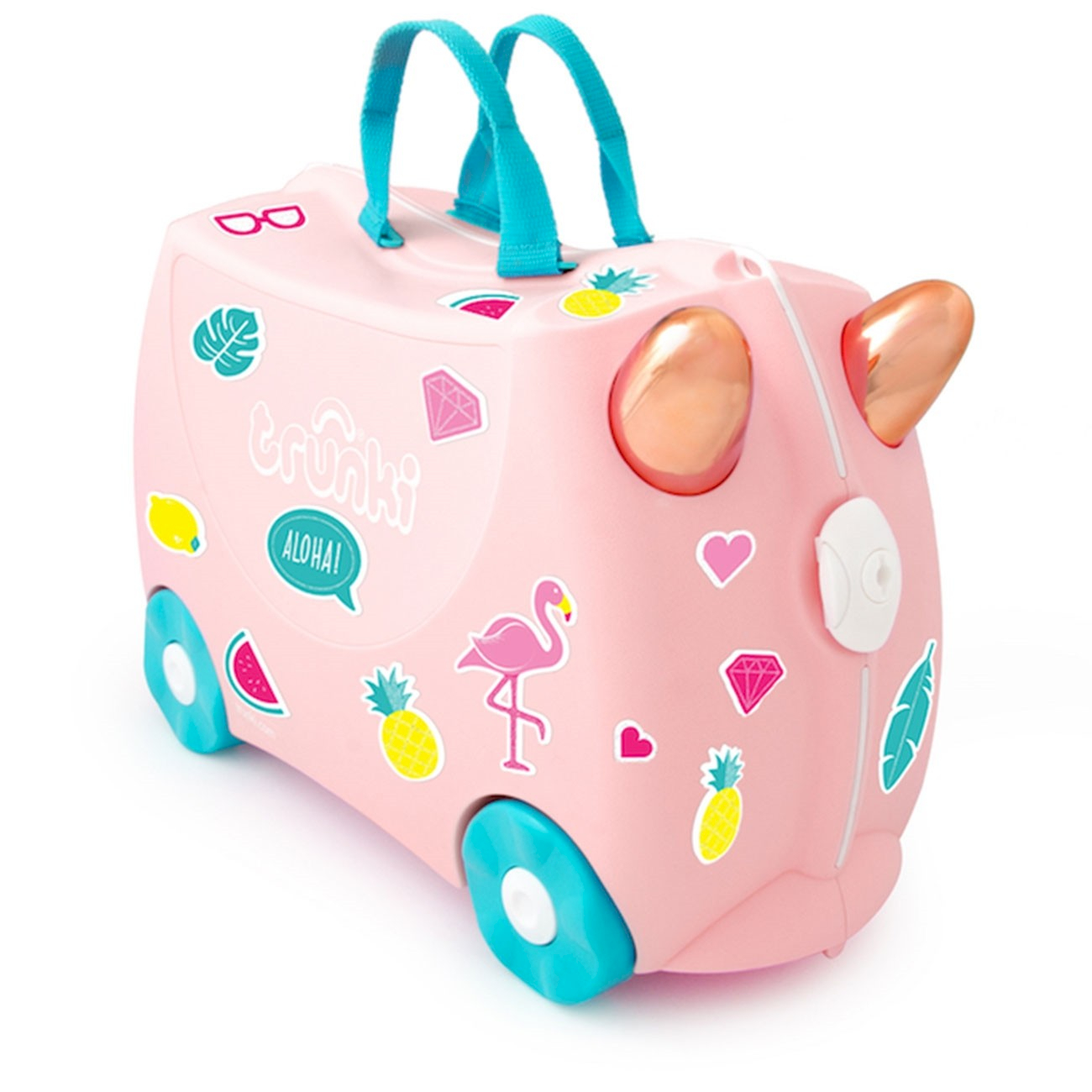 Trunki Flamingo Rose Gold