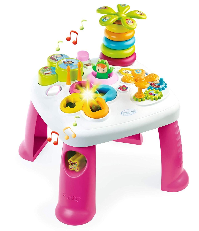 Cotoons Activity-Spieltisch Rosa