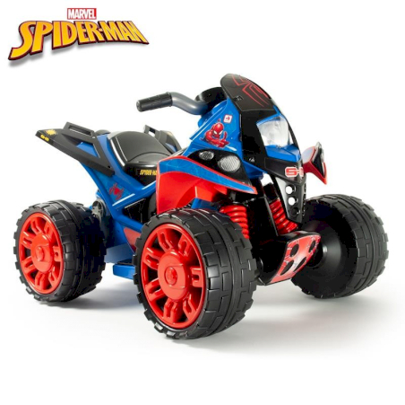 Quad Elettrico Spiderman