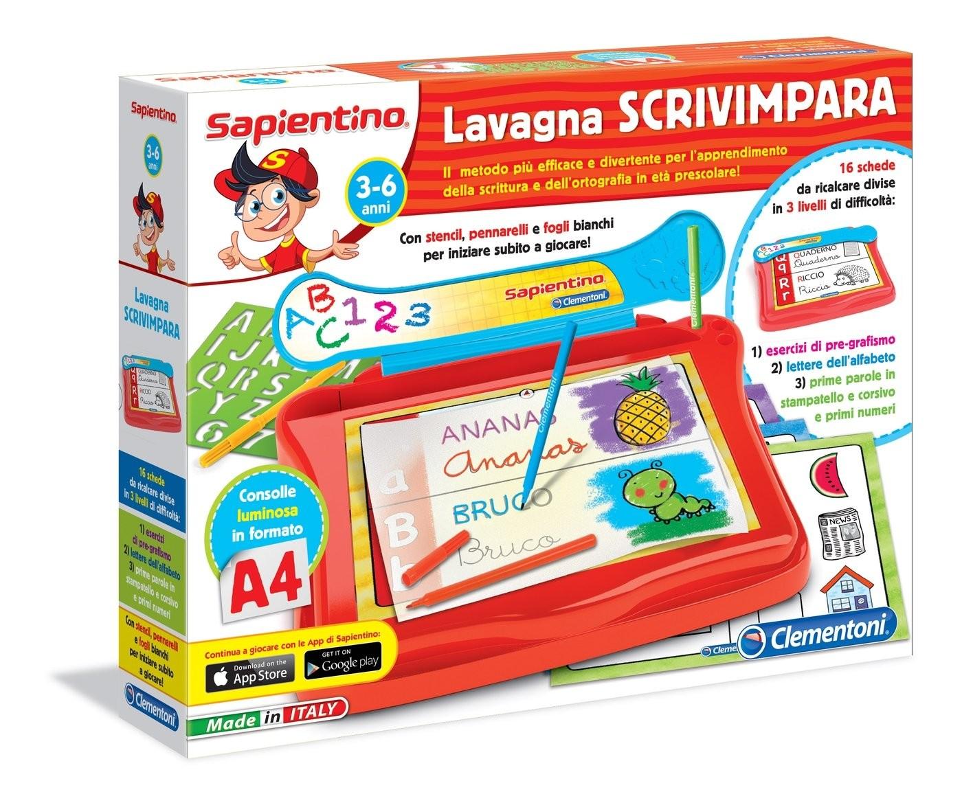 Clementoni Lavagna Scrivimpara