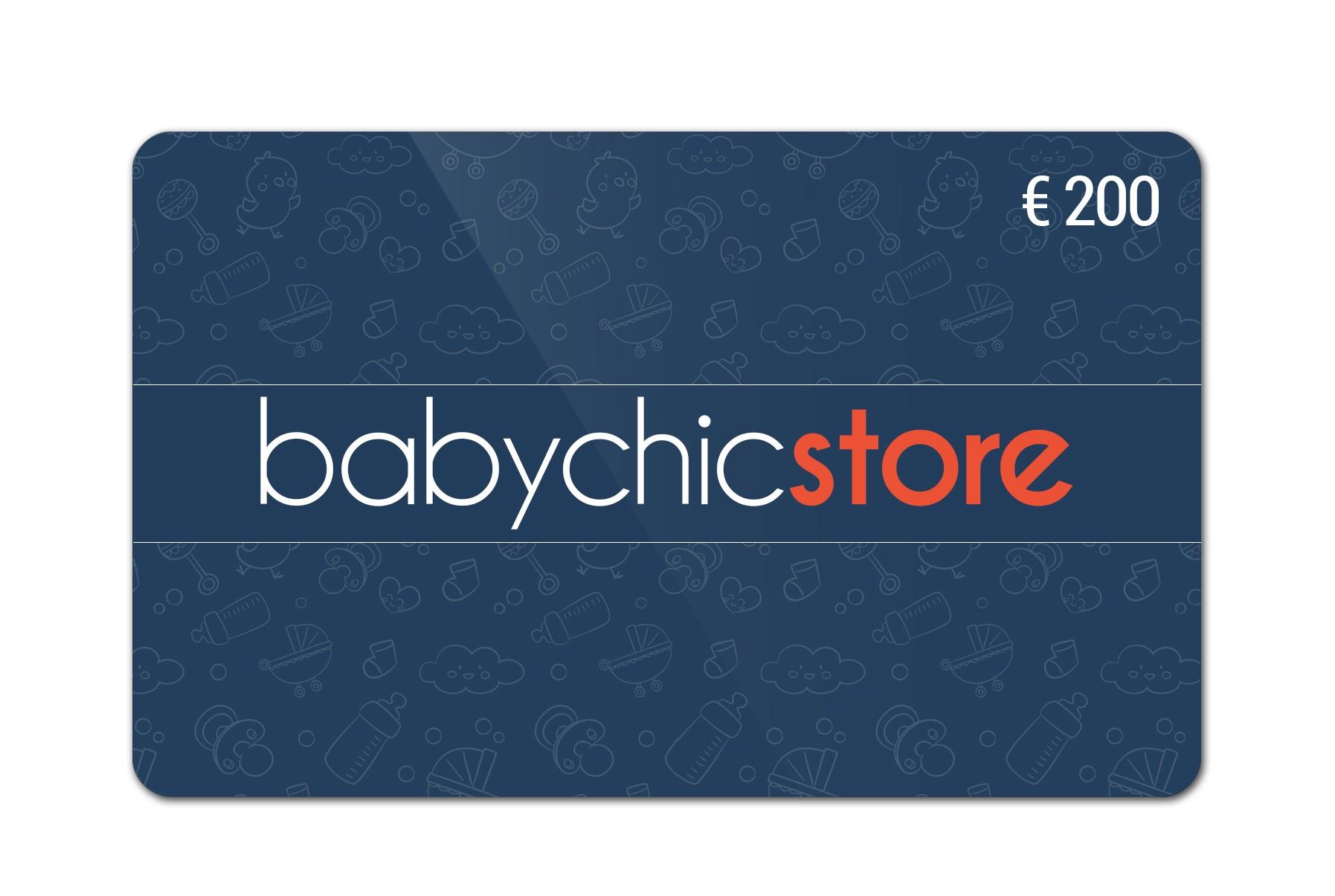 Buono Regalo BabyChicStore Buono Regalo da 200€