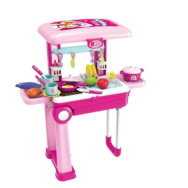 Trolley Cucina giocattolo da Viaggio