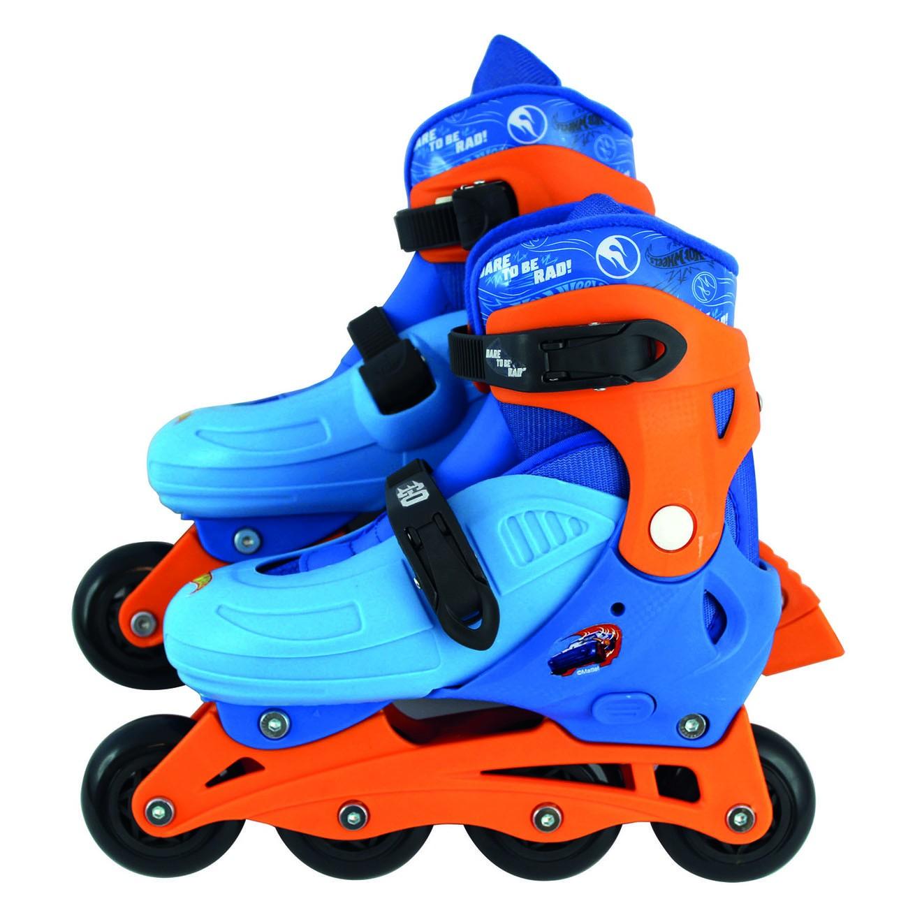 Hot Wheels Patins à Roulettes - Taille S