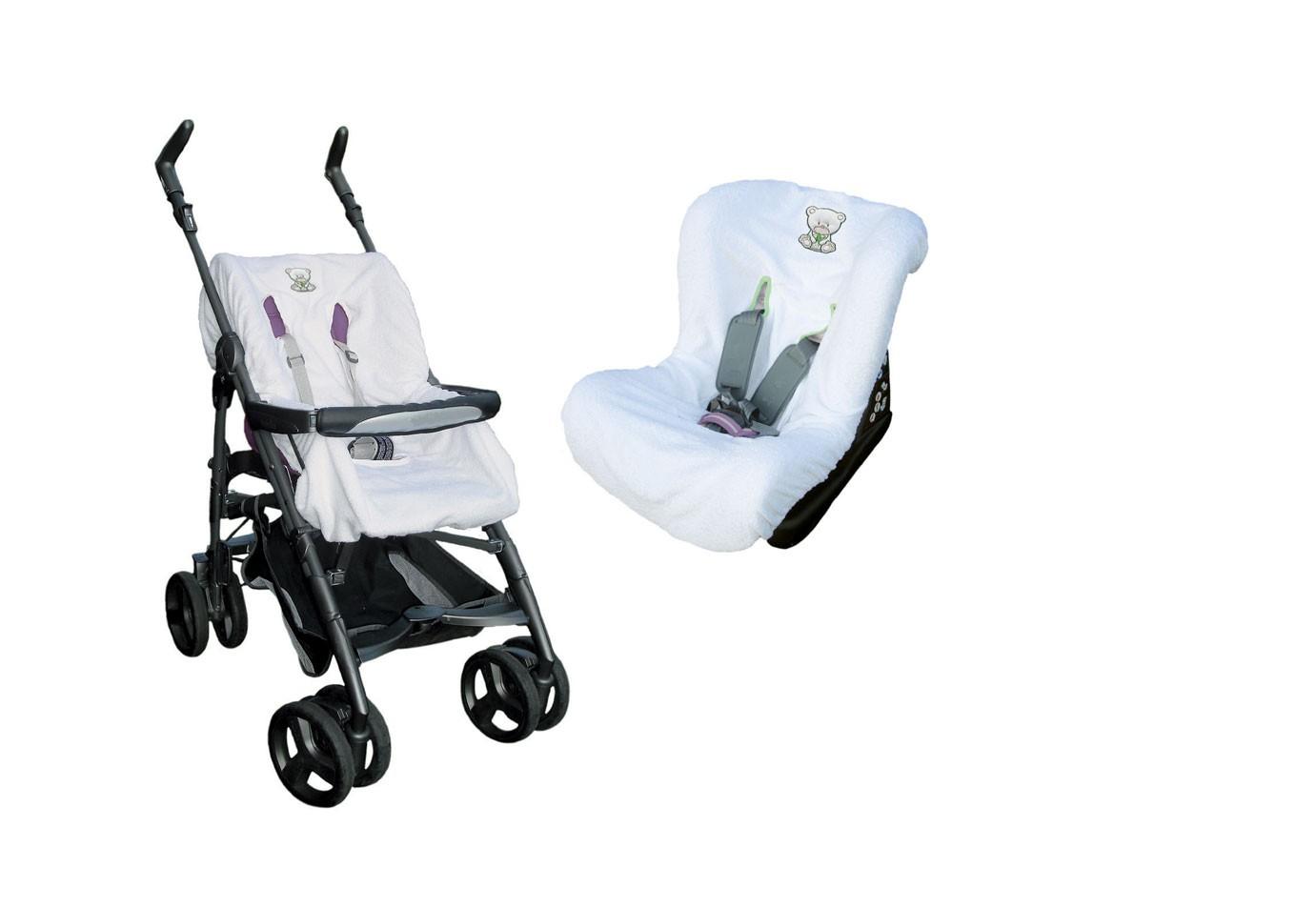Universaler Bezug für Kinderwagen und Kindersitz