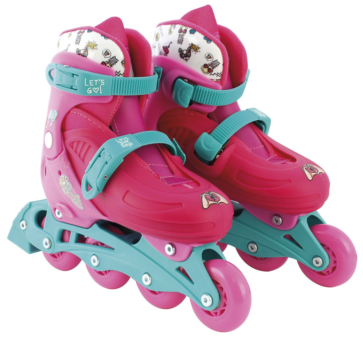 Barbie Patines - Talla S