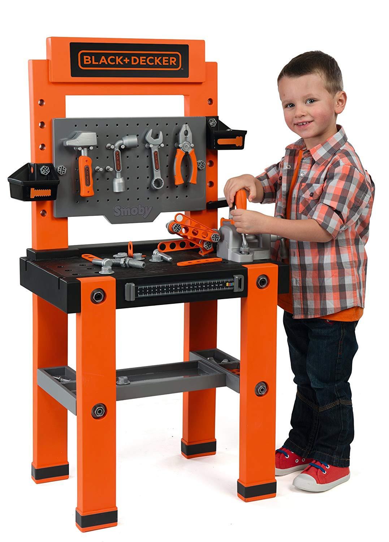 banco lavoro bambini black decker giocattolo