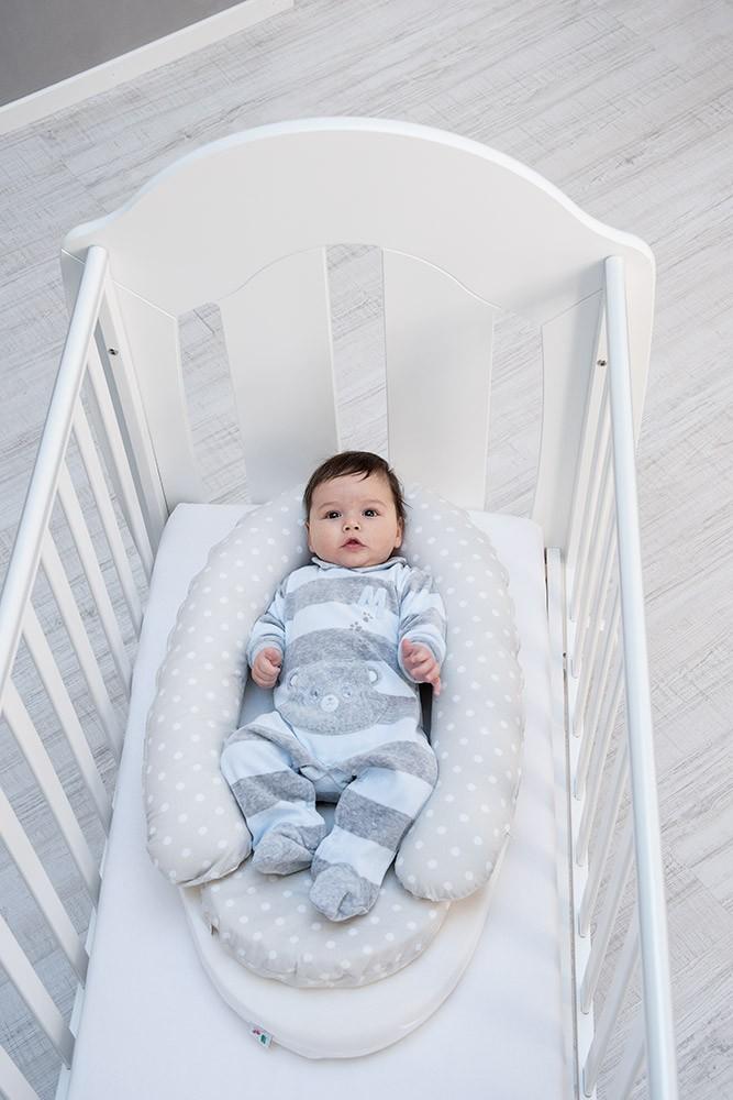 ItalBaby Réducteur de Lit bébé Little Love Gris