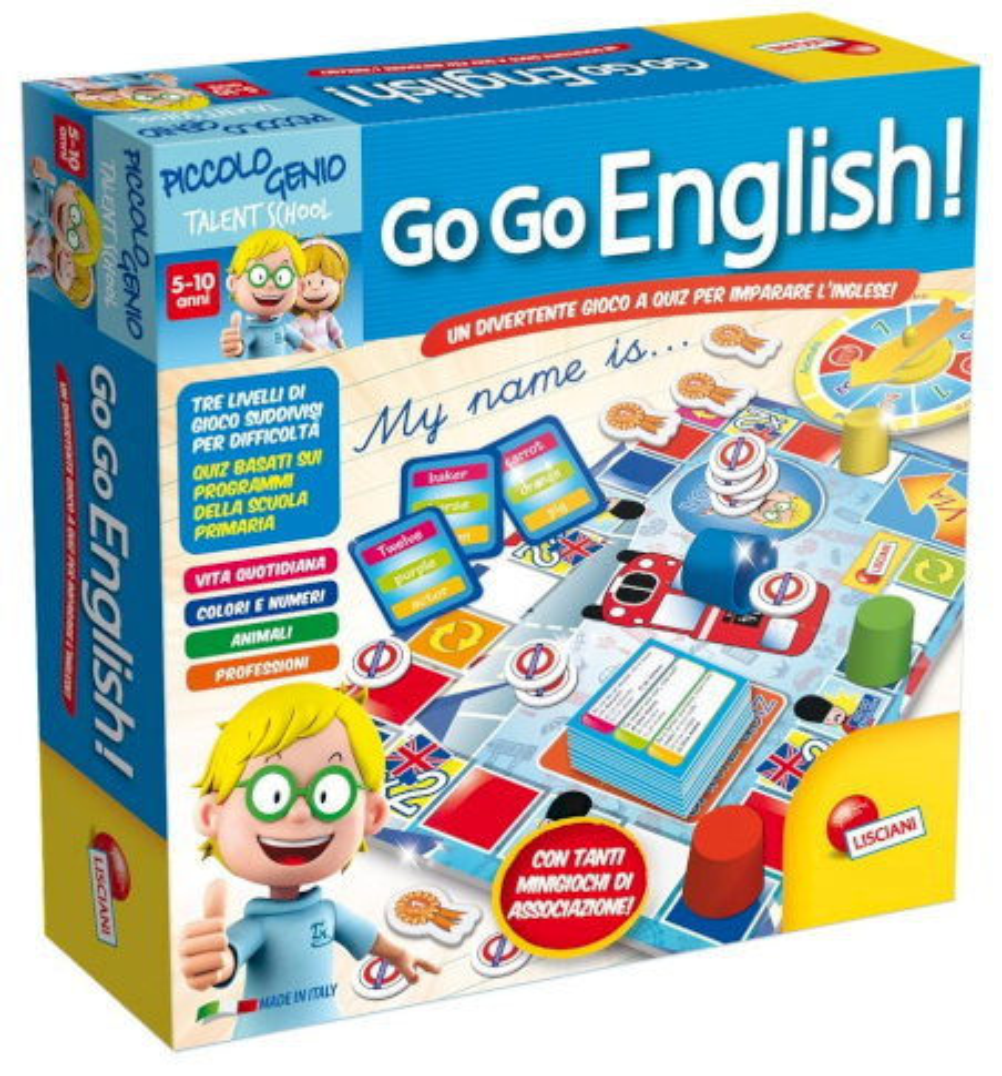 Go Go English - Piccolo Genio