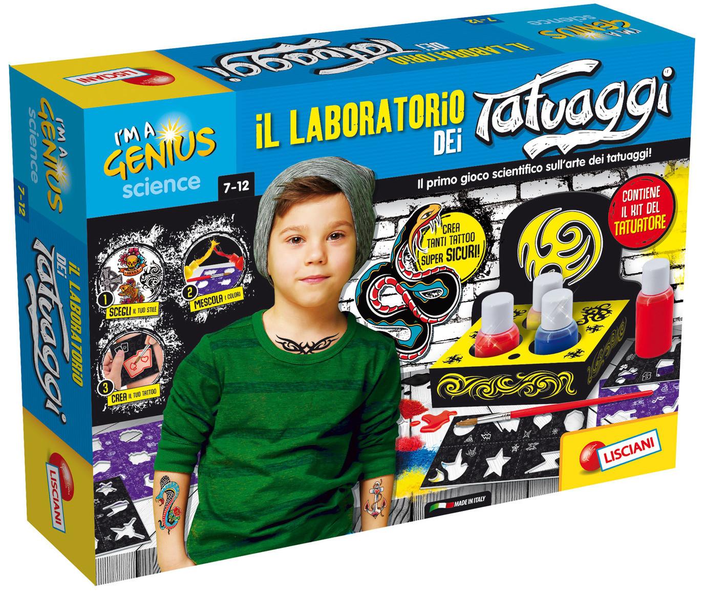 La Fabbrica dei Tatuaggi - Piccolo Genio