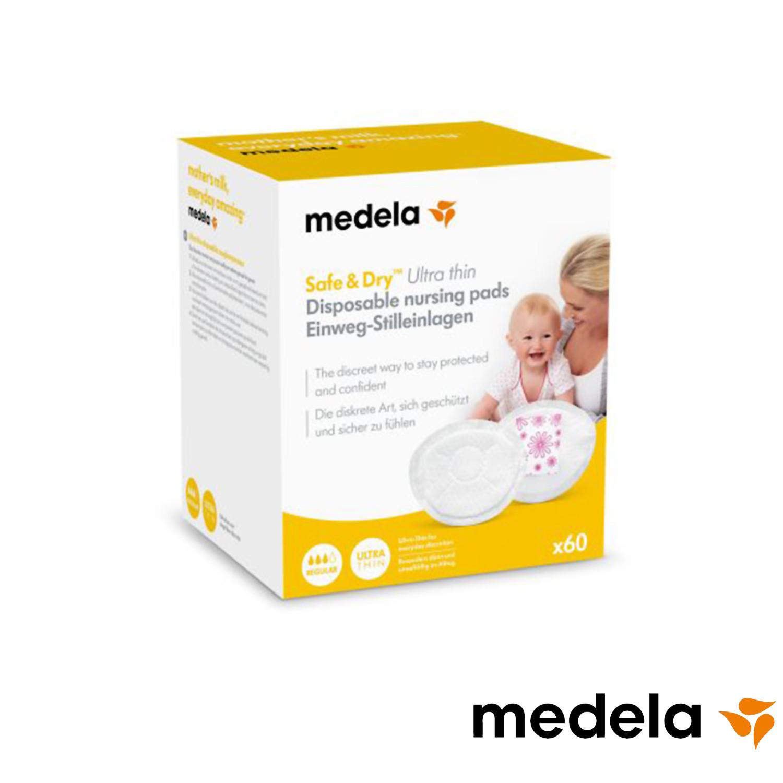 Medela Coussinets d'allaitement Safe & Dry™ Ultra thin 60pc