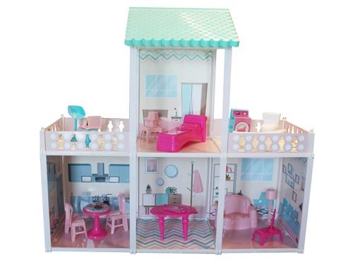 Villa avec Poupée et Accessoires