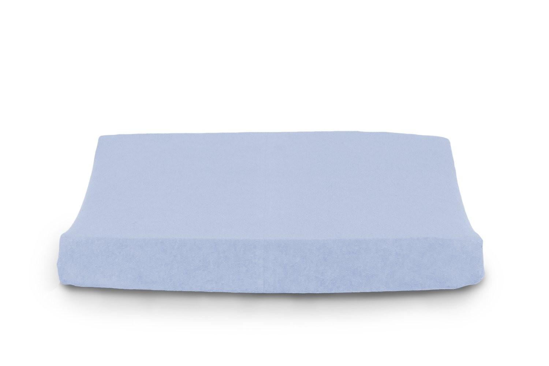 Housse de matelas à langer en Éponge Bleu