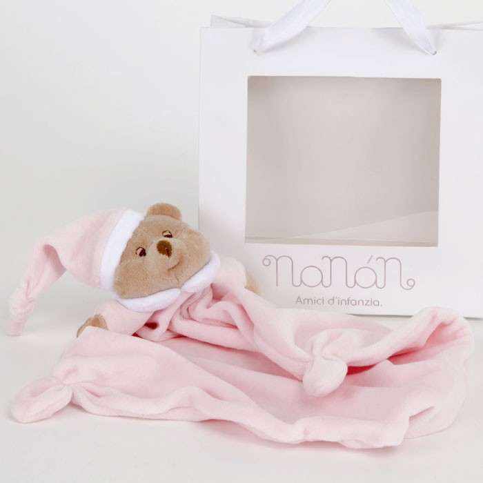 Pañuelo para Dientes Puccio Rosa Nanan