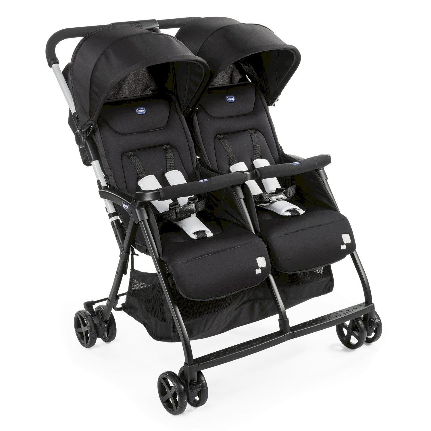 Poussette Double Ohlala Twin Chicco Black Night
