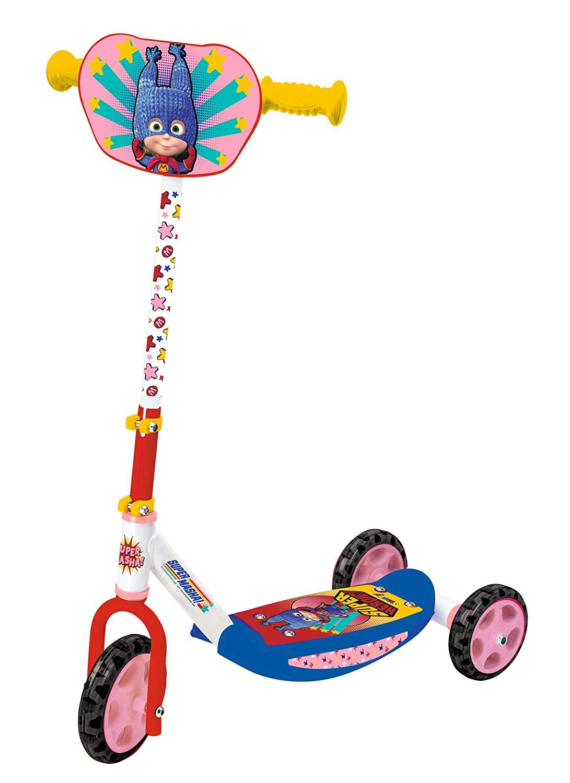 Smoby 3-Räder-Roller Mascha und der Bär