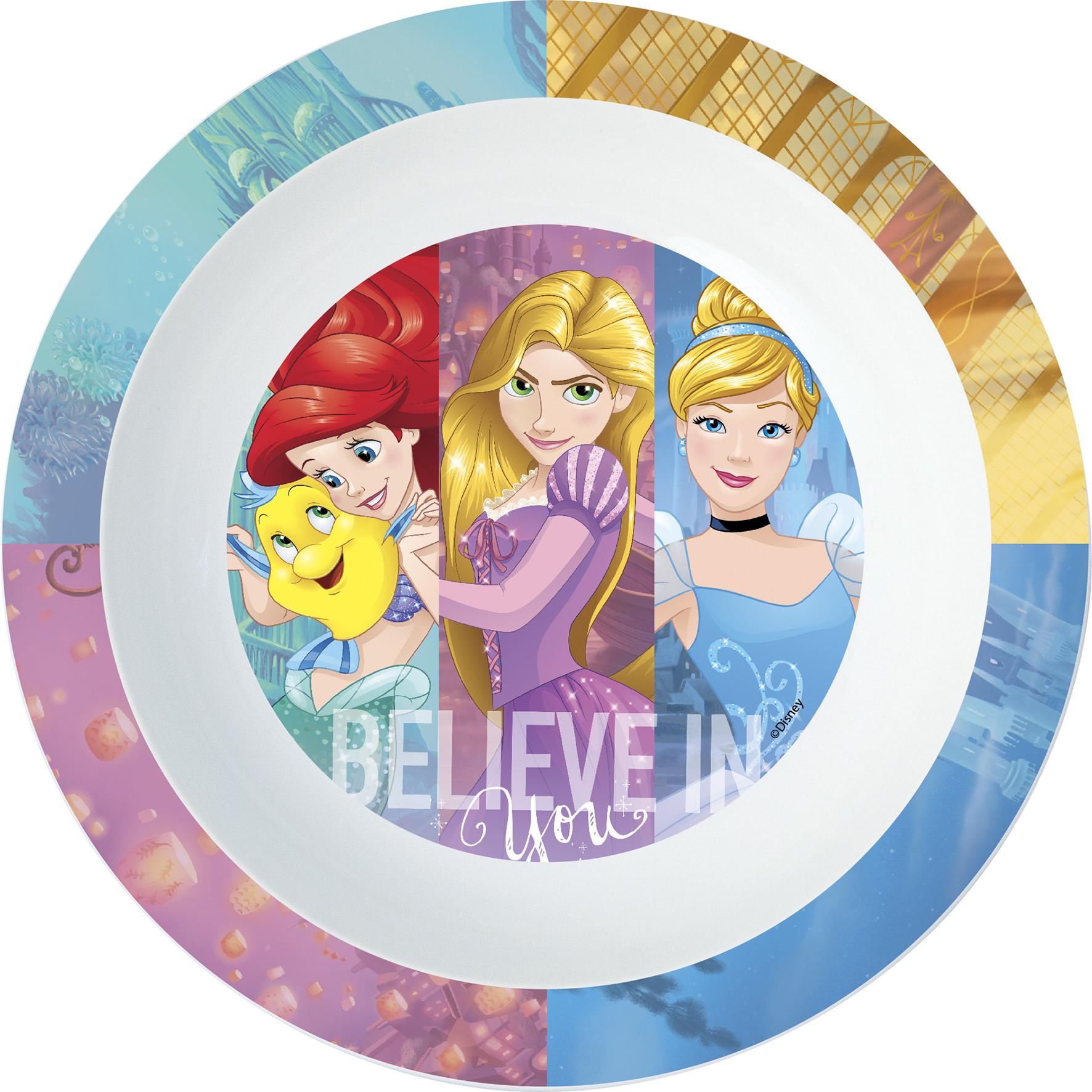 Assiette Creuse Disney Princesses