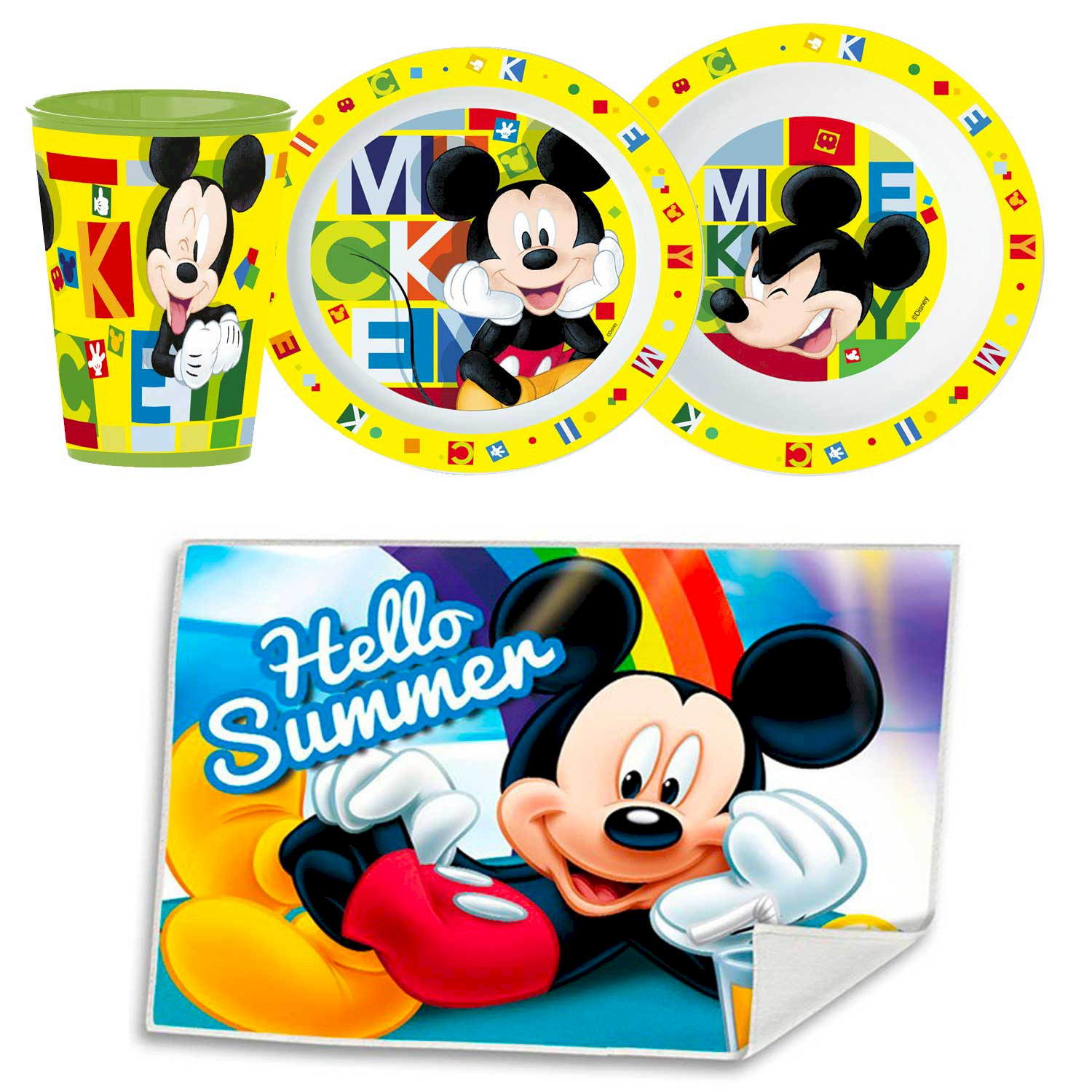 Set Repas - Disney Mickey Mouse