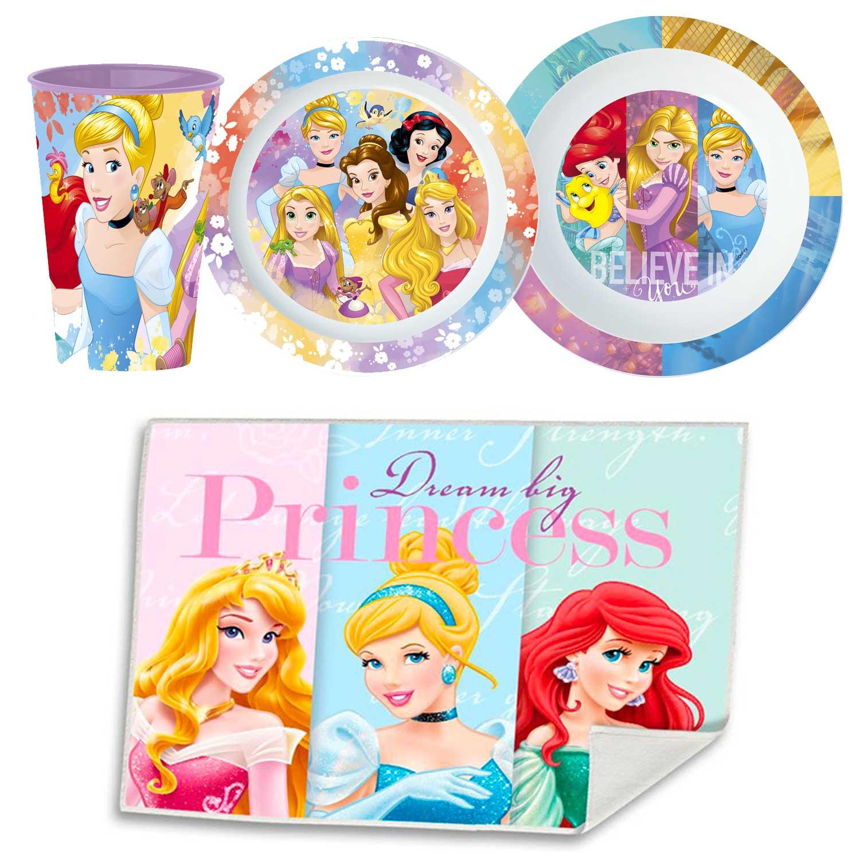 Disney Geschirr-Set Prinzessin