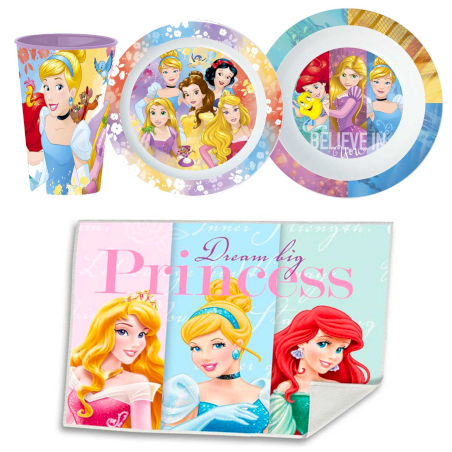 Set Repas - Disney Princesses