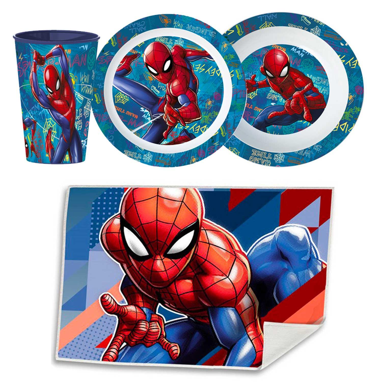 Disney Geschirr-Set Spiderman