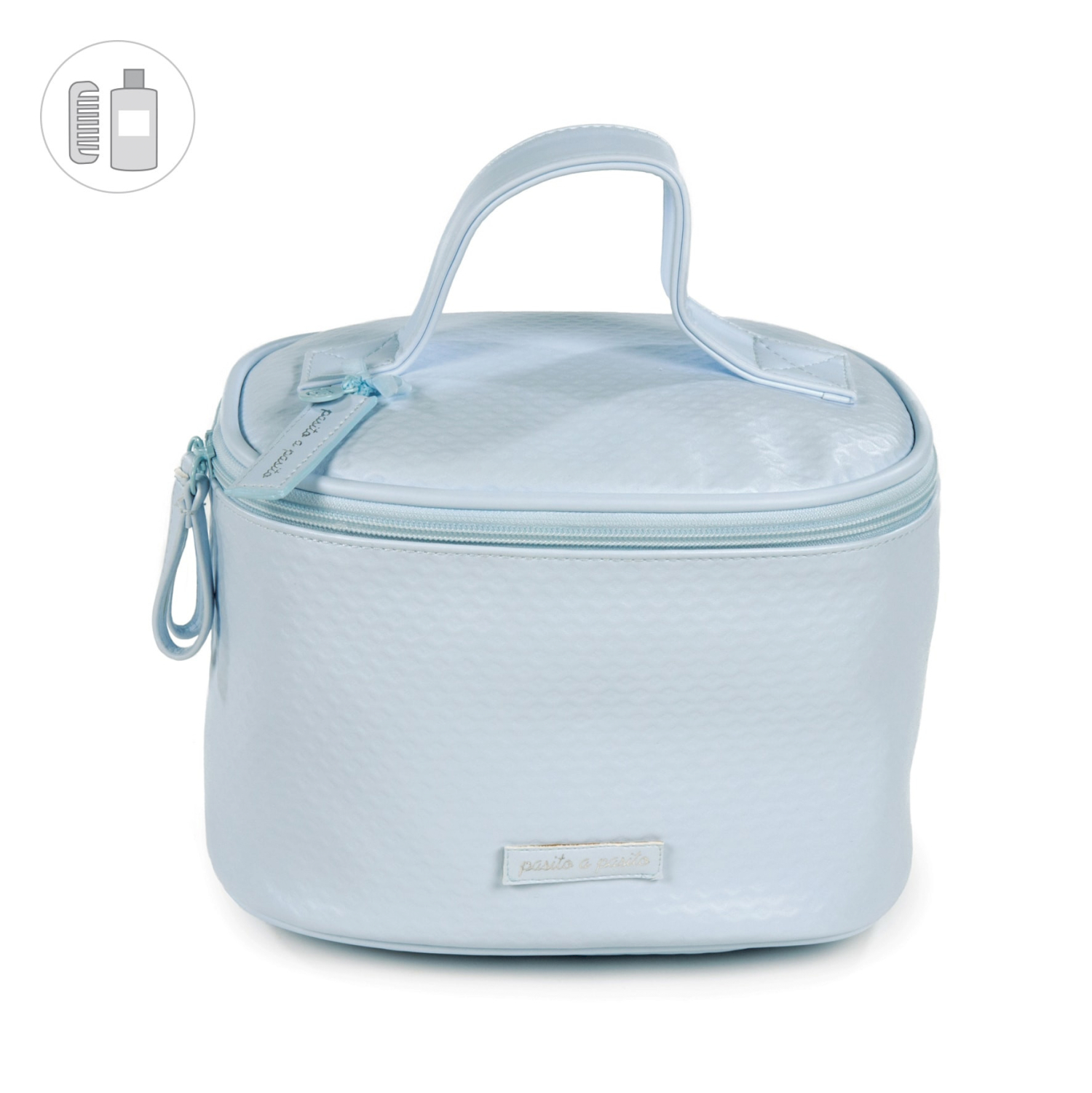 Beauty Case New Cotton Azzurro