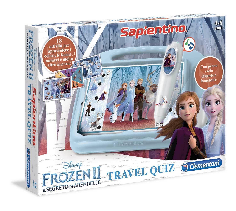 Sapientino Travel Quiz - Frozen 2