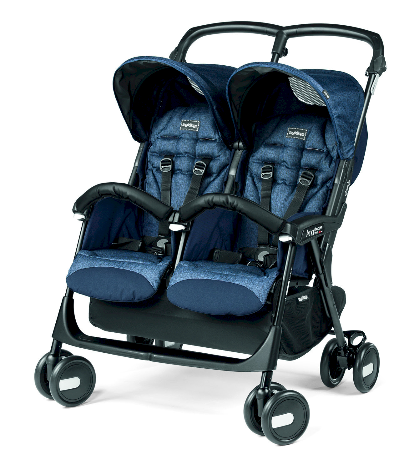 Peg Perego Aria Shopper Twin Indigo