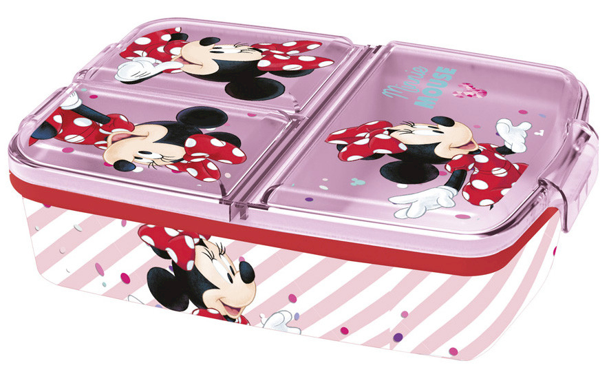 Porte-Goûter Multi-Compartement Minnie