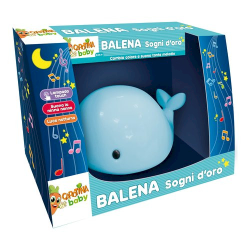 Balena Sogni d'oro Azzurro